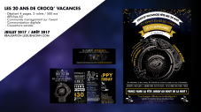 Communication 20 ans de Crocq' Vacances | Mai/Juin 2017