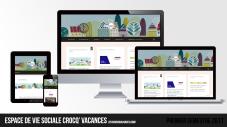 Site web « Crocq' Vacances » | Premier semestre 2017