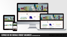 Site web « Crocq' Vacances »   Premier semestre 2017