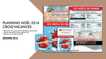 Plaquette Crocq'Vacances | Déc. 2016