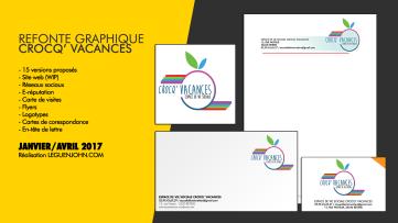 Plaquette Crocq'Vacances / Refonte Graphique | Janv./Avr. 2017