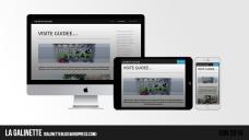 Site web LA GALINETTE | Juin 2016
