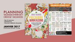 Plaquette Crocq' Vacances   Jan. 2017