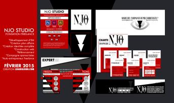 Plaquette NJO Studio | Décembre 2014