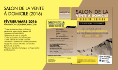 Plaquette Salon VDI'16   Fév./Mars 2016
