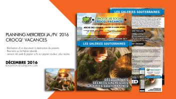 Plaquette Crocq' Vacances | Déc. 2016