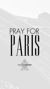 iPhone 6+ - « Pray For Paris » by LE GUEN JOHN Collection