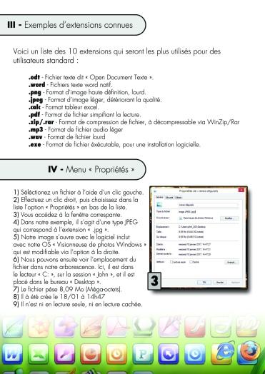 Page 2 - Les Extensions de fichiers