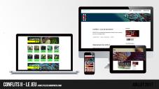 Site web « Conflits II » | Juillet 2017